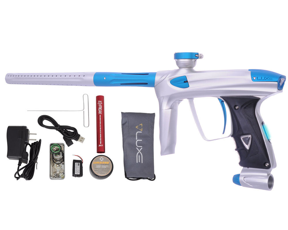 DLX Luxe 2.0 OLED Paintball Gun - Dust White/Dust Teal