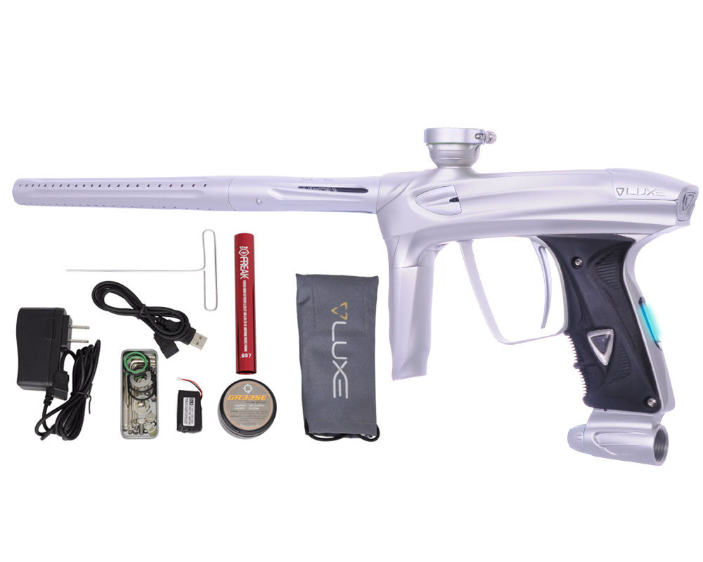 DLX Luxe 2.0 OLED Paintball Gun - Dust White/Dust White