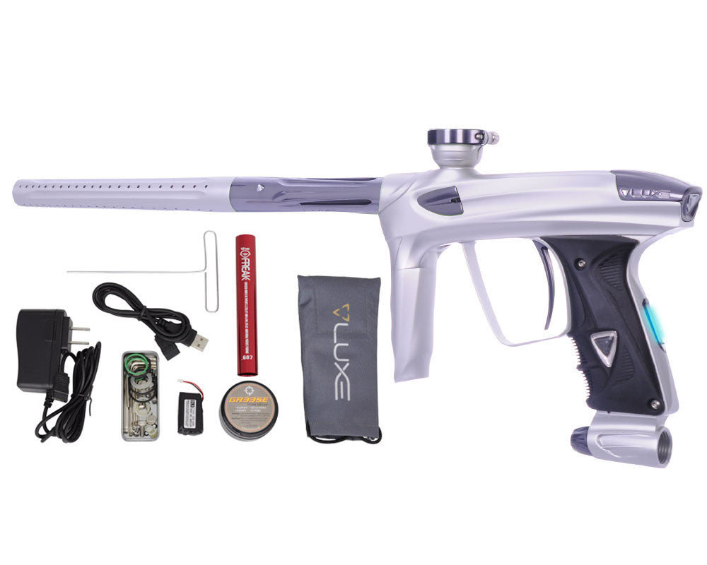 DLX Luxe 2.0 OLED Paintball Gun - Dust White/Titanium