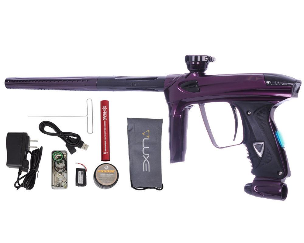 DLX Luxe 2.0 OLED Paintball Gun - Eggplant/Black