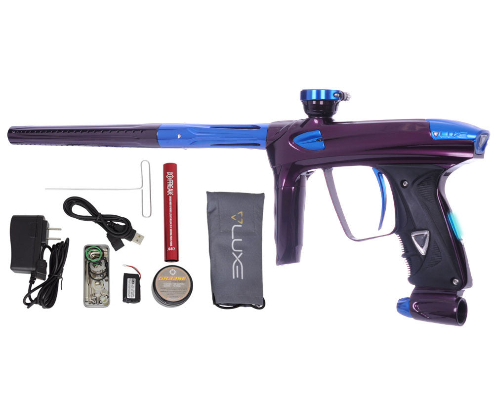 DLX Luxe 2.0 OLED Paintball Gun - Eggplant/Blue