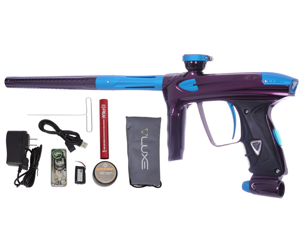 DLX Luxe 2.0 OLED Paintball Gun - Eggplant/Dust Teal