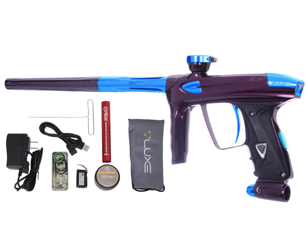 DLX Luxe 2.0 OLED Paintball Gun - Eggplant/Teal