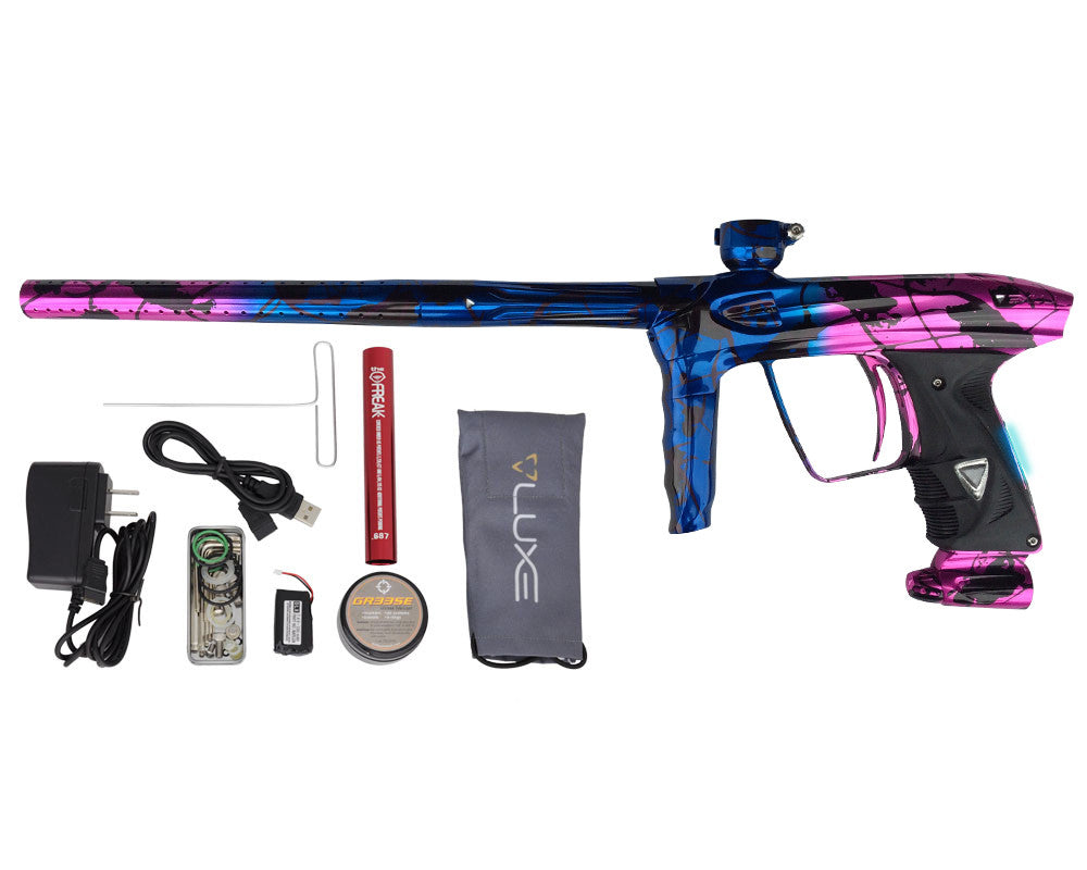 DLX Luxe 2.0 OLED Paintball Gun - Electric Splash