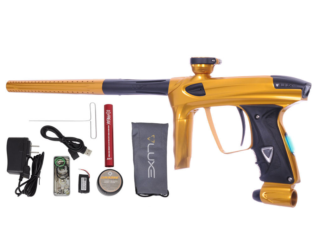 DLX Luxe 2.0 OLED Paintball Gun - Gold/Dust Black