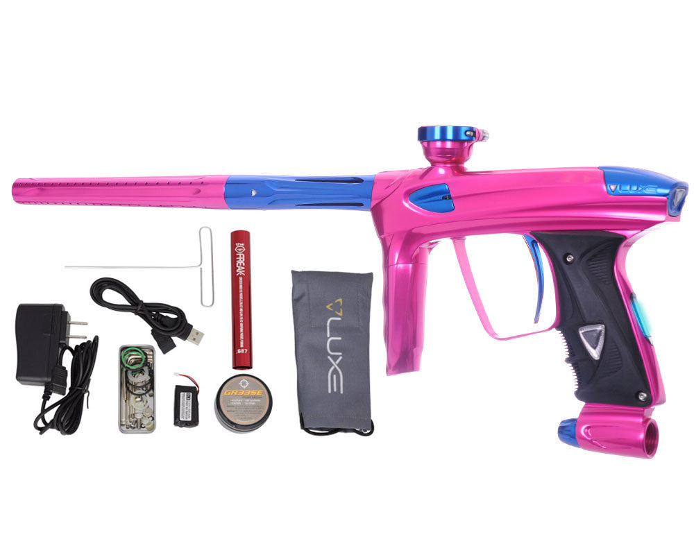 DLX Luxe 2.0 OLED Paintball Gun - Pink/Blue