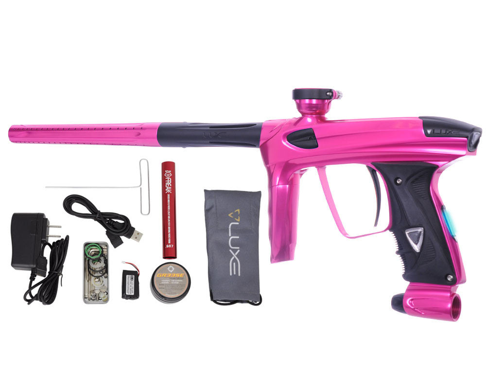DLX Luxe 2.0 OLED Paintball Gun - Pink/Dust Black