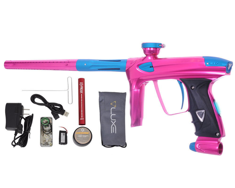 DLX Luxe 2.0 OLED Paintball Gun - Pink/Dust Teal