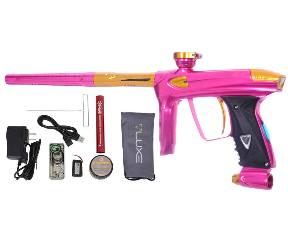 DLX Luxe 2.0 OLED Paintball Gun - Pink/Gold