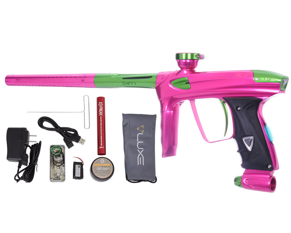 DLX Luxe 2.0 OLED Paintball Gun - Pink/Slime Green