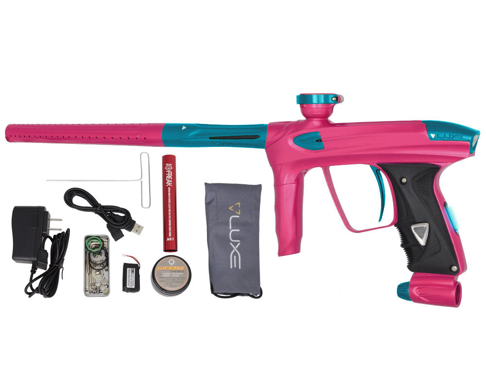 DLX Luxe 2.0 OLED Paintball Gun - Pink/Teal