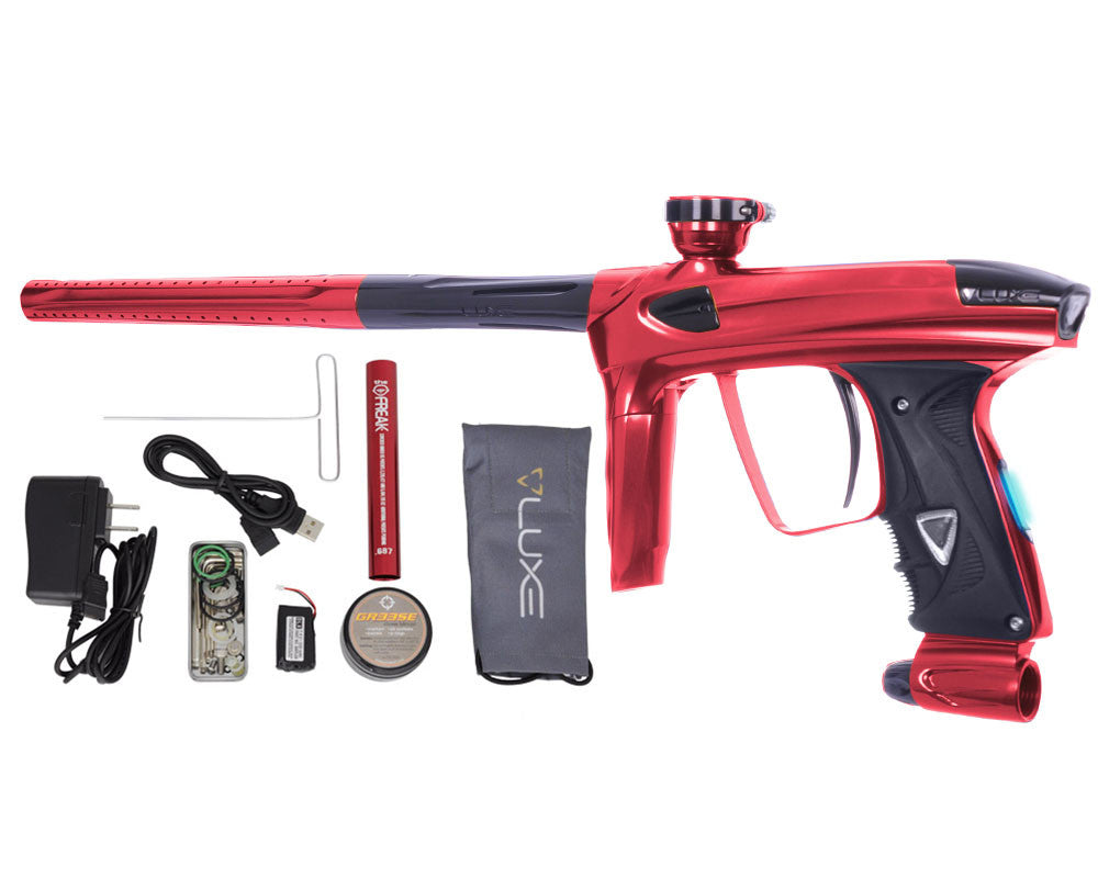DLX Luxe 2.0 OLED Paintball Gun - Red/Black