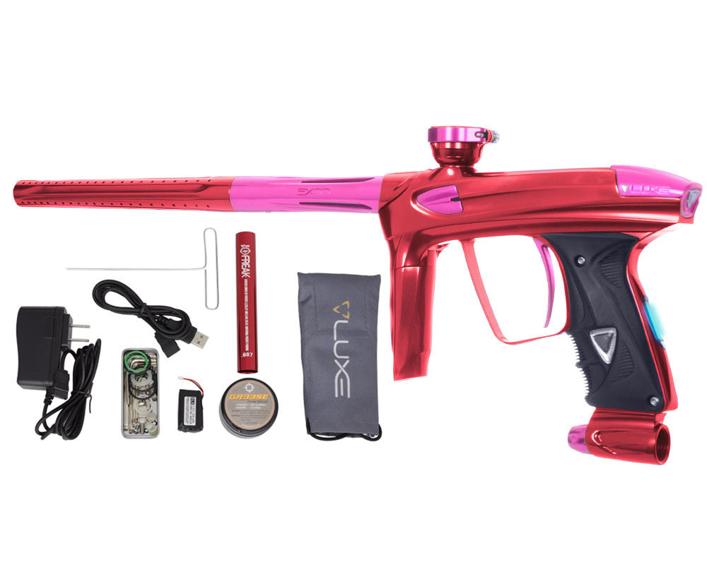 DLX Luxe 2.0 OLED Paintball Gun - Red/Pink