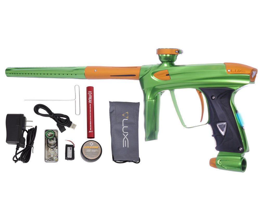 DLX Luxe 2.0 OLED Paintball Gun - Slime Green/Dust Gold
