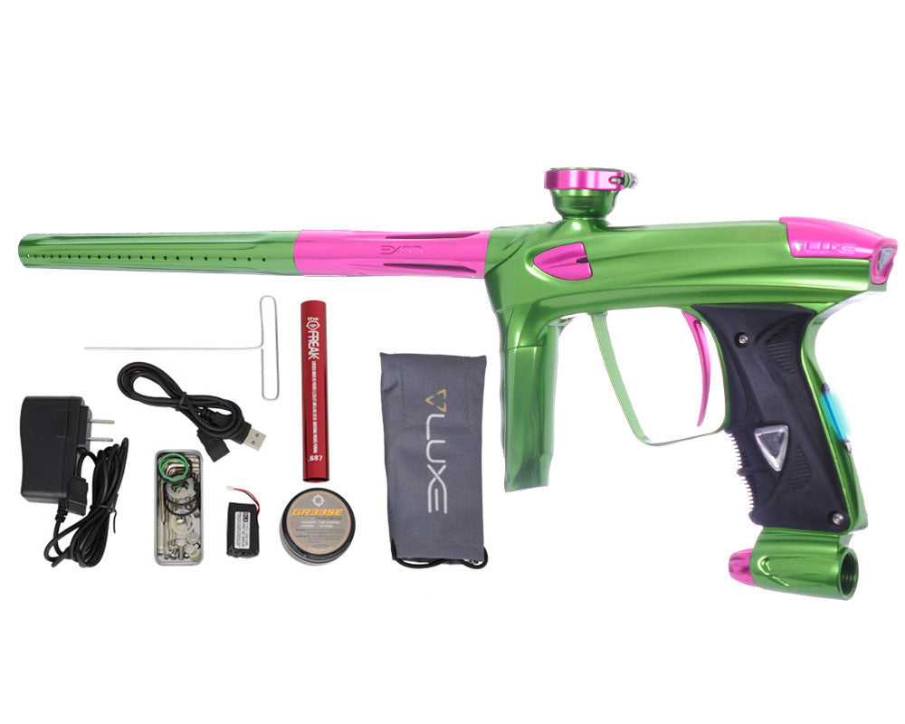 DLX Luxe 2.0 OLED Paintball Gun - Slime Green/Pink