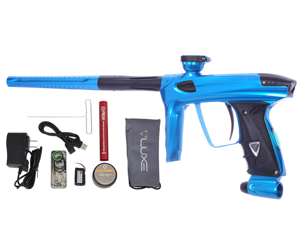 DLX Luxe 2.0 OLED Paintball Gun - Teal/Dust Black