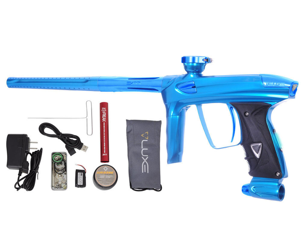 DLX Luxe 2.0 OLED Paintball Gun - Teal/Teal