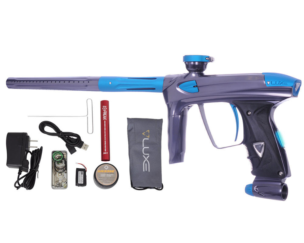 DLX Luxe 2.0 OLED Paintball Gun - Titanium/Dust Teal