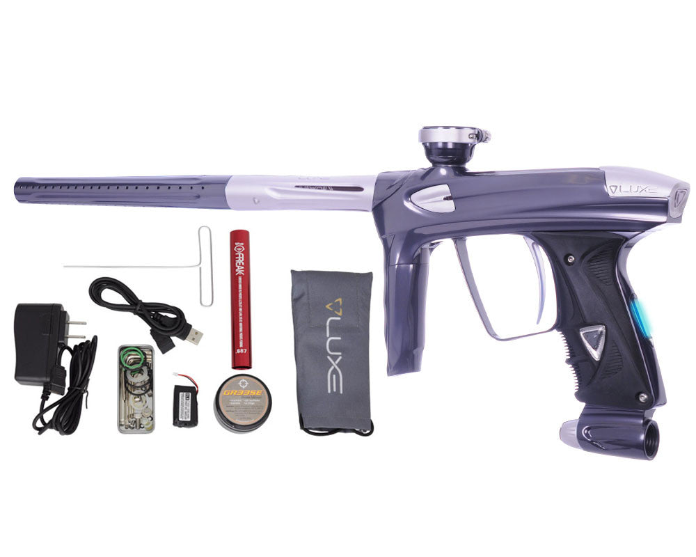 DLX Luxe 2.0 OLED Paintball Gun - Titanium/Dust White