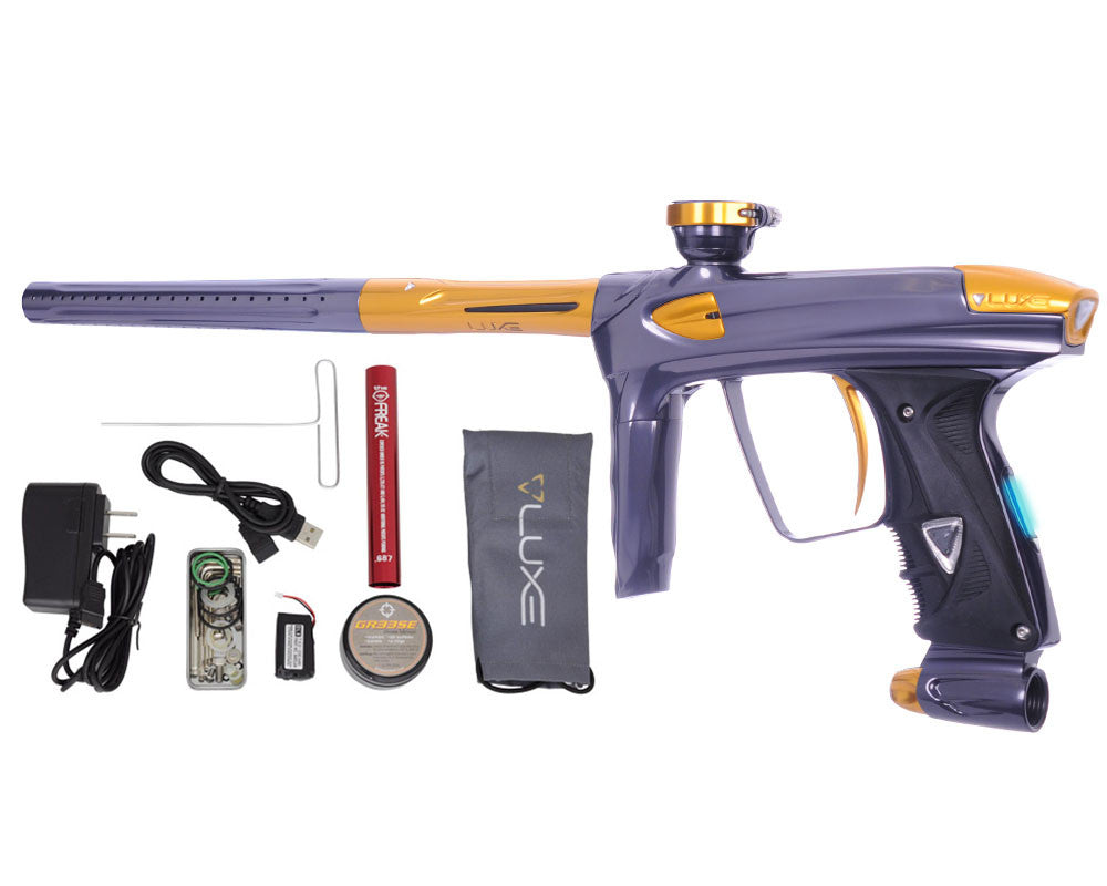 DLX Luxe 2.0 OLED Paintball Gun - Titanium/Gold