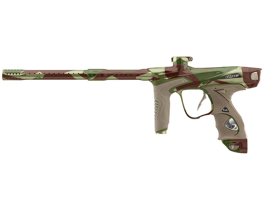 Dye DM15 Paintball Gun - PGA Barracks Green