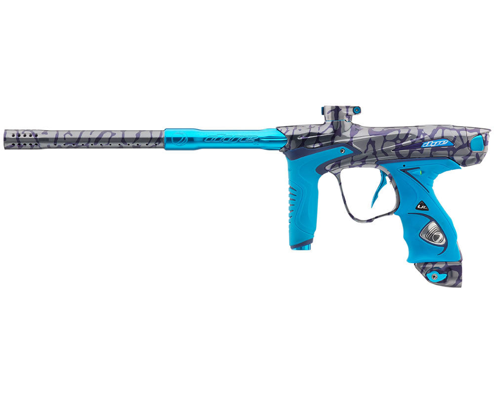 Dye DM15 Paintball Gun - PGA Skinned Cyan