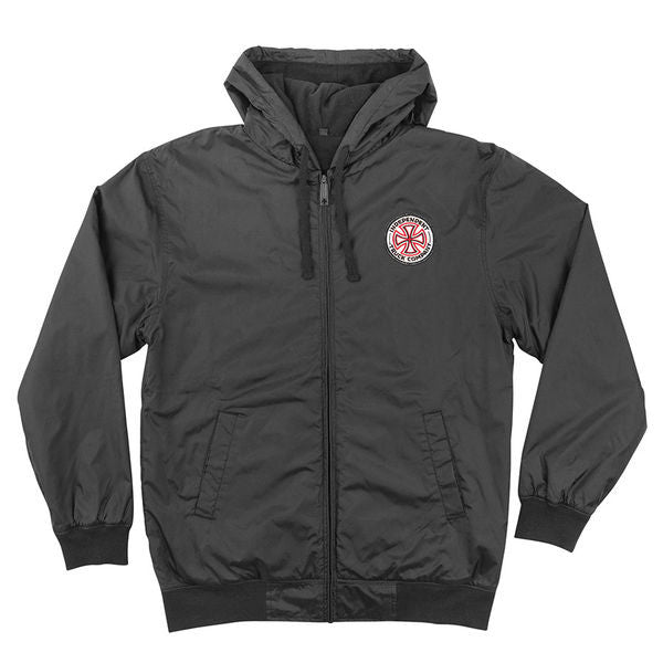 Independent RWC Hooded Windbreaker - Black - Men's Jacket