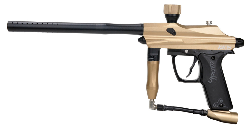 Azodin Kaos Paintball Gun - Gold/Black