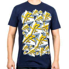 Young and Reckless Multiply - Navy - Men's T-Shirt