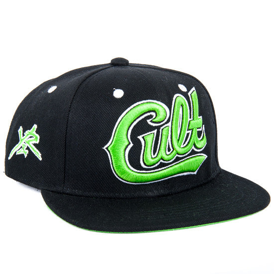 Young and Reckless Cult Snapback - Black - Men's Hat