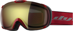 Dye T1 Red Snowboard Goggles - Faded Bronze
