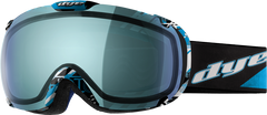 Dye T1 Technical Snowboard Goggles - Blue Flash