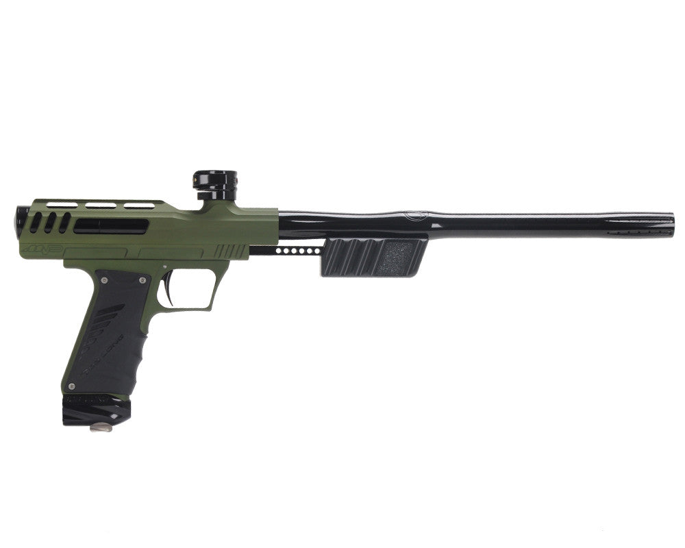"Bob Long ""MVP"" Marq Victory Pump Paintball Gun - Dust Army Green w/ Black"
