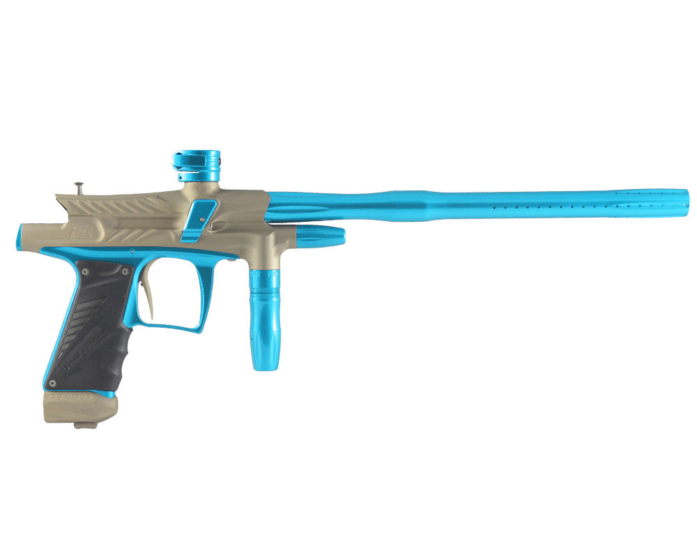 2012 Bob Long G6R F5 OLED Intimidator - Dust Khaki/Teal