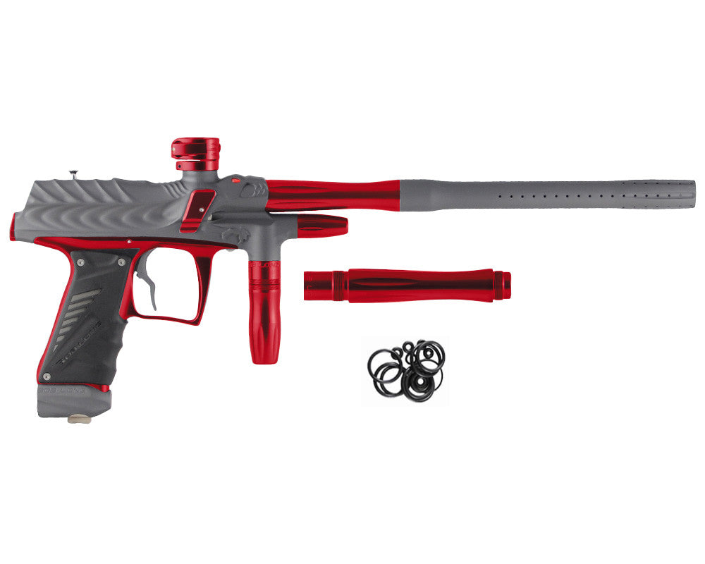Bob Long Dragon G6R Intimidator - Dust Titanium/Polished Red