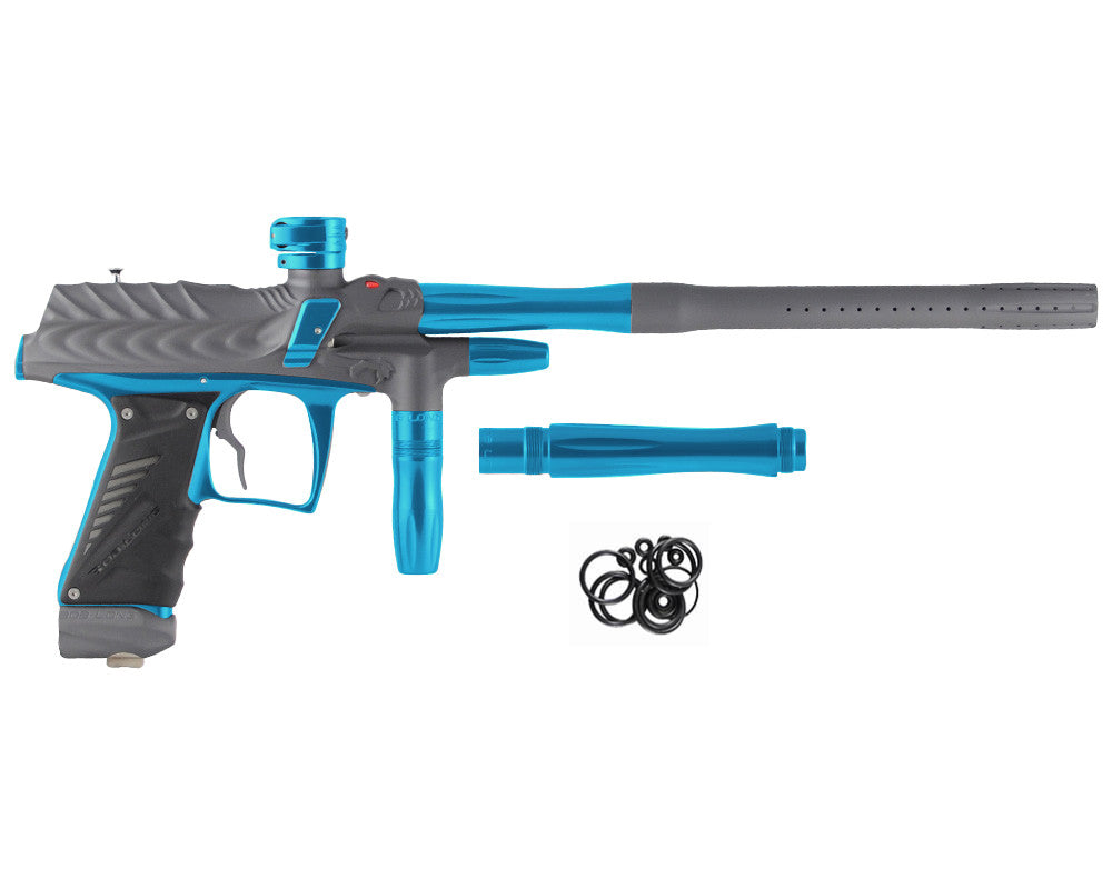 Bob Long Dragon G6R Intimidator - Dust Titanium/Polished Teal