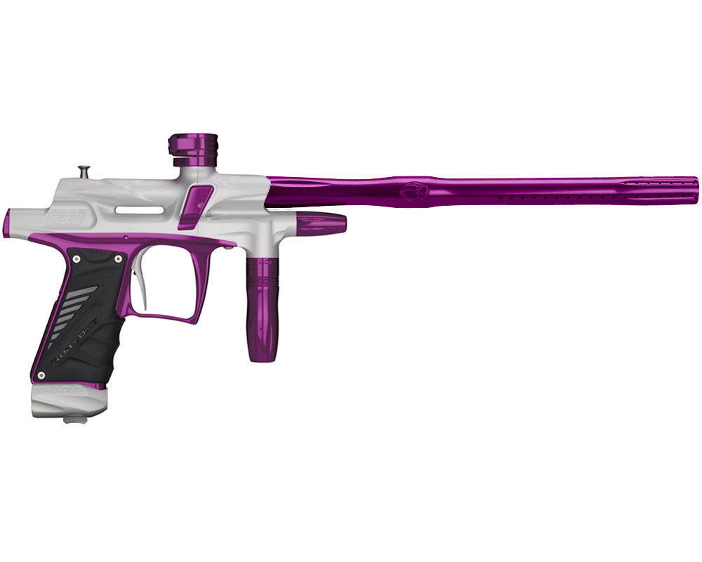 2012 Bob Long G6R OLED Intimidator - Dust White w/ Purple