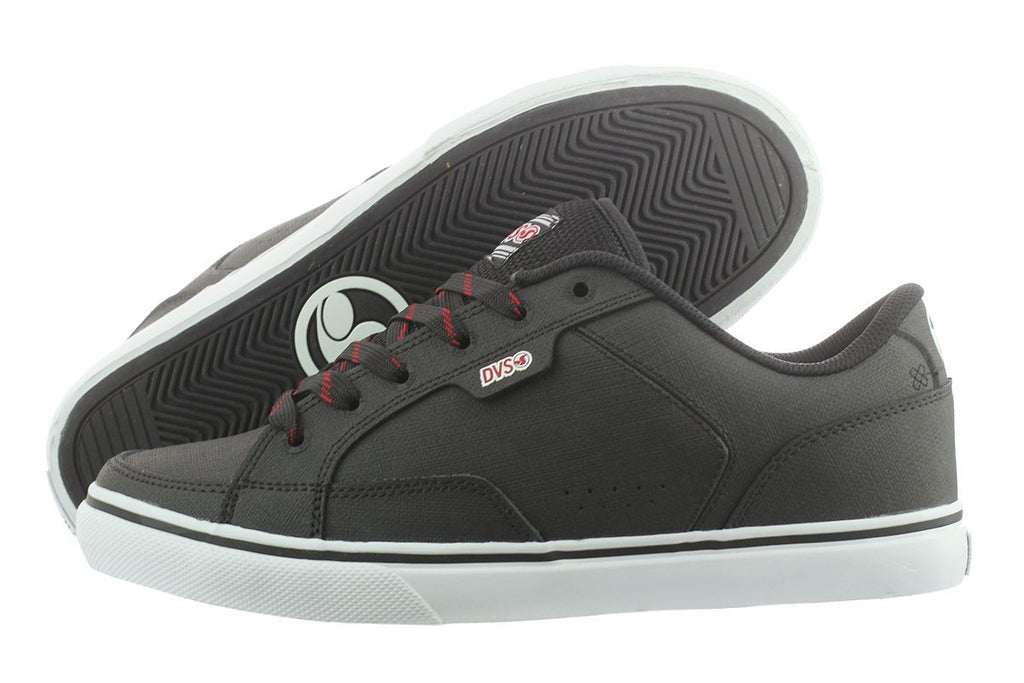 DVS Carson - Black Leather 013 - Skateboard Shoe