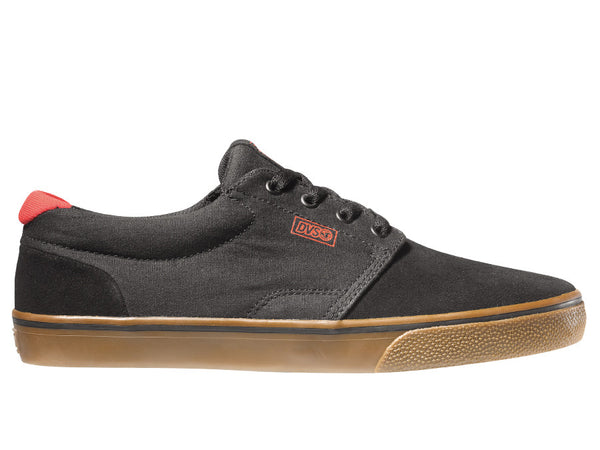 DVS Daewon 13 CT - Black/Red/Gum Suede 005 - Skateboard Shoes