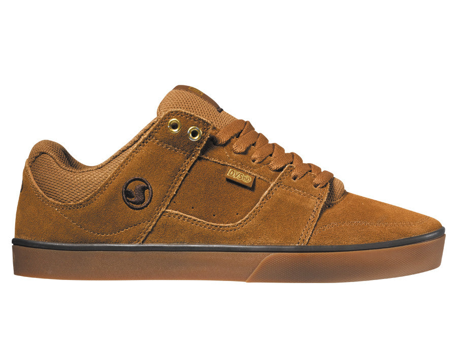 DVS Evade - Brown/Gum Suede 200 - Skateboard Shoes