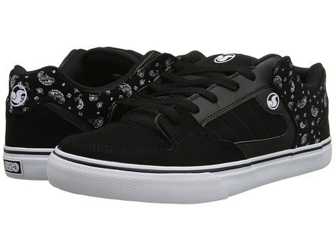 DVS Militia CT - Black/White/Bandana 004 - Skateboard Shoes