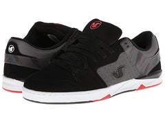 DVS Argon - Black/Grey Nubuck 001 - Skateboard Shoes