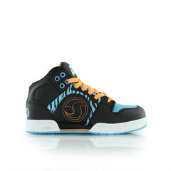 DVS Aces High Skateboard Shoes  - Kids - Black/Blue Animal