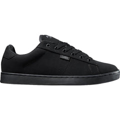 DVS Revival 2 - Black/Black Leather 004 - Men's Skateboard Shoes