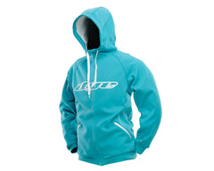 Dye 2013 Snow Hooded Sweatshirt - Aqua/White