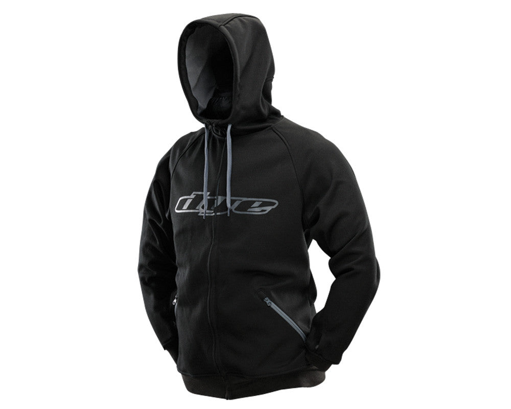 Dye 2013 Snow Hooded Sweatshirt - Black/Grey
