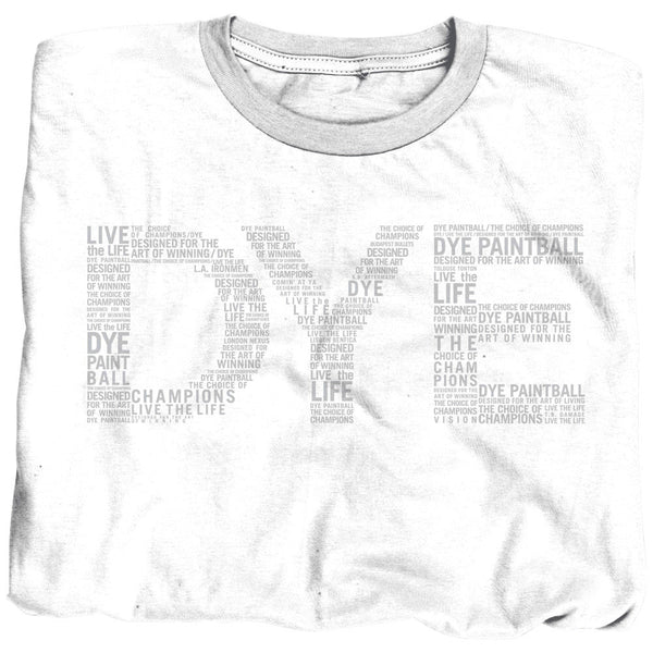 2011 Dye Typed T-Shirt - White