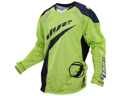 2014 Dye C14 Paintball Jersey - Ace Lime/Navy