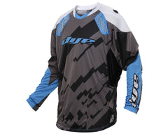 2014 Dye C14 Paintball Jersey - Airstrike Grey/Blue