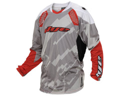 2014 Dye C14 Paintball Jersey - Airstrike Grey/Red